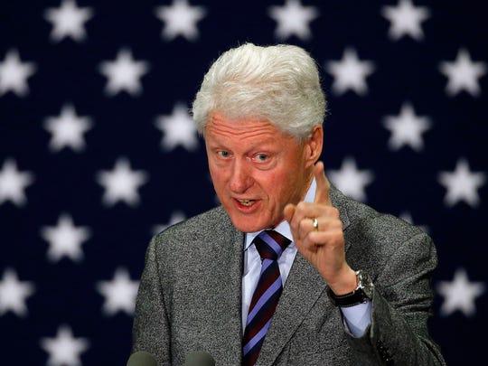 DEMOCRATS IN 1996: President Bill Clinton.