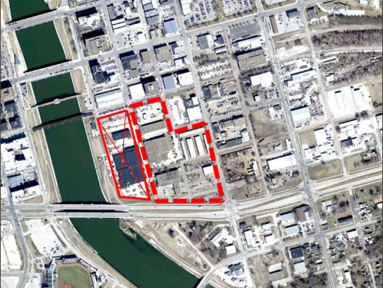 A city of Des Moines proposal offered up five blocks,