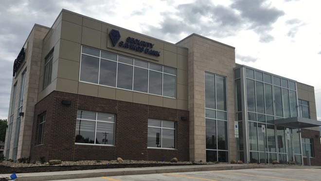 Security Savings Bank's new Sioux Falls office at 2331 E. 10th St.