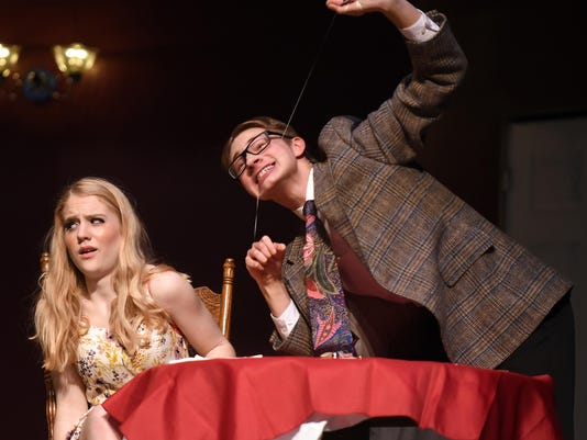"Granville High School play ""Check Please"""