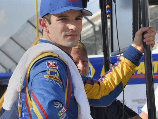 Alexander Rossi, driving for Andretti Autosport, is in his third season. He has two race wins, including one Indianapolis 500.