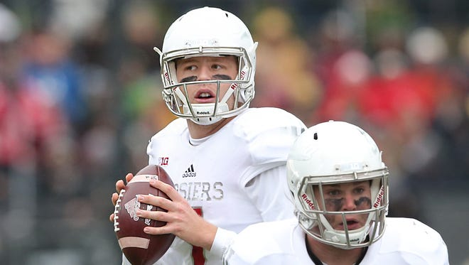 Hoosiers quarterback Nate Sudfeld became the school's all-time leading passer in IU's win over Purdue Saturday.