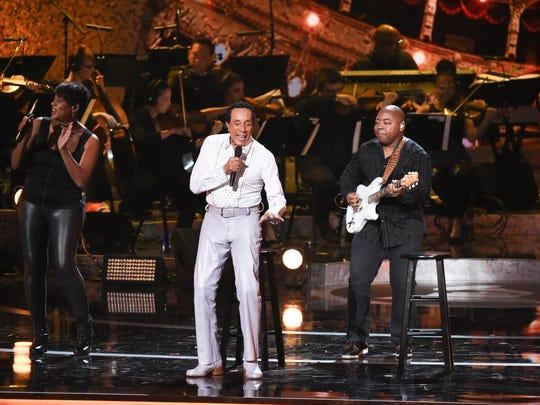 Smokey Robinson performs during Motown 60: A GRAMMY