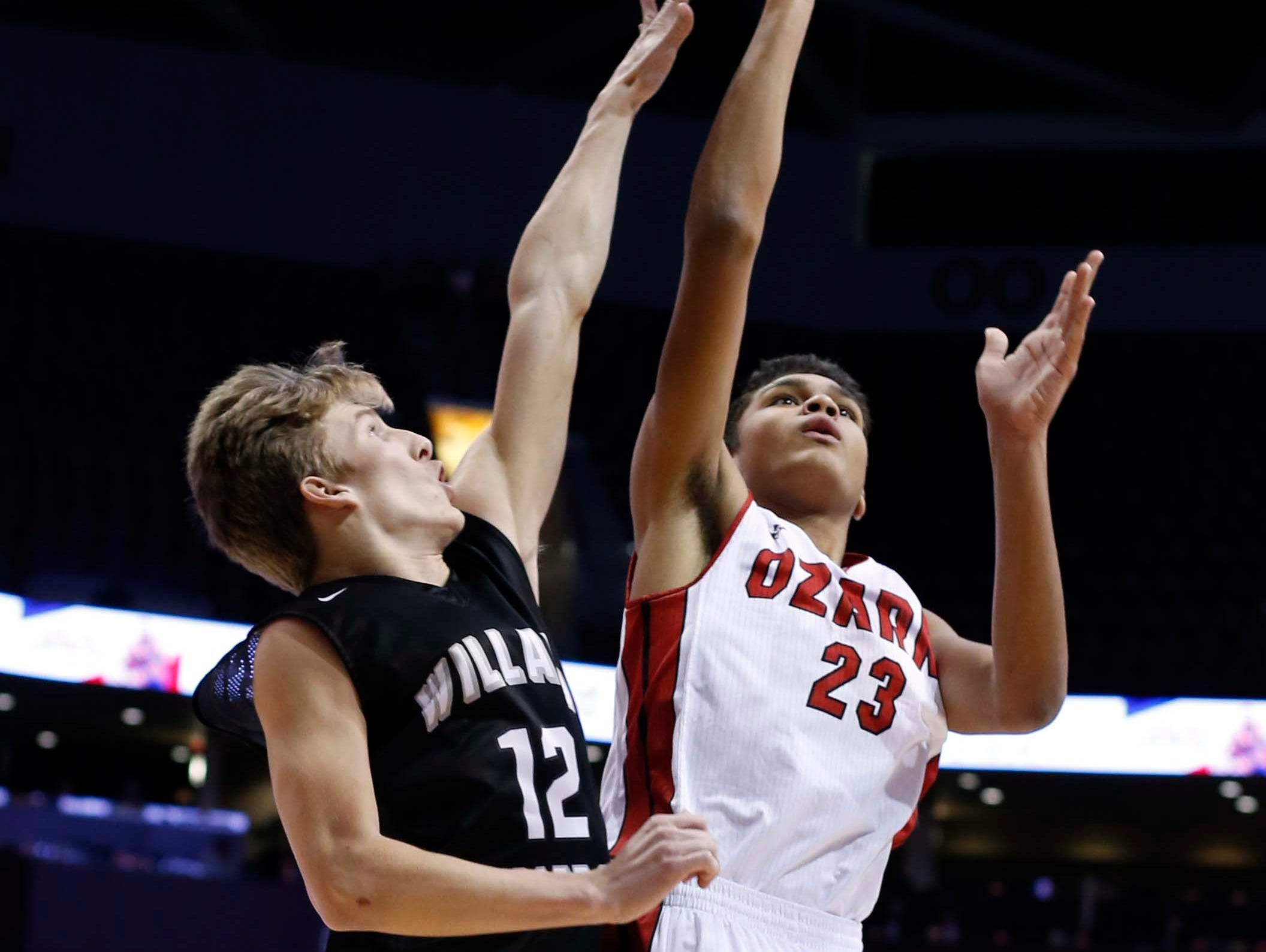 Ozark against Willard in the Gold division final at JQH Arena on December 29, 2016.