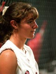 Kristin Peck Ryman was a three-sport star at Smyrna before playing softball at Lipscomb.