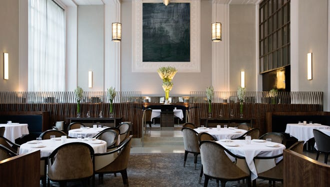 New York City's Eleven Madison Park ranks No. 4 on The World's 50 Best Restaurants list and is Best in North America in 2018. The fine dining, American tasting menu restaurant from chef Daniel Humm debuted a redesign in 2017.