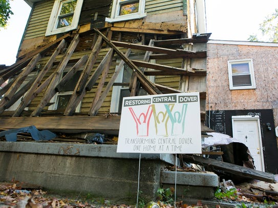 One of five homes to be rebuilt as part of a Central