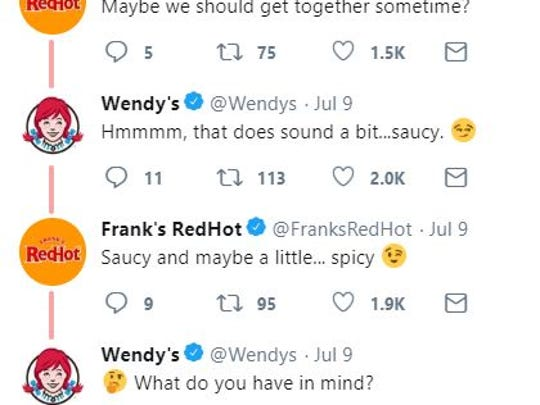 Wendy's and Franks RedHot have personified their brand,