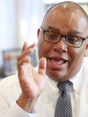 New Rochelle High School Principal Reggie Richardson.