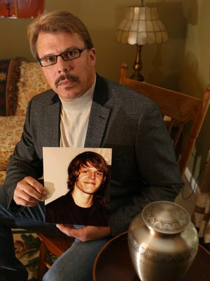Jeff Surface, the father of Caleb Surface, who was shot and killed by Fairfield police, wants the case reopened.