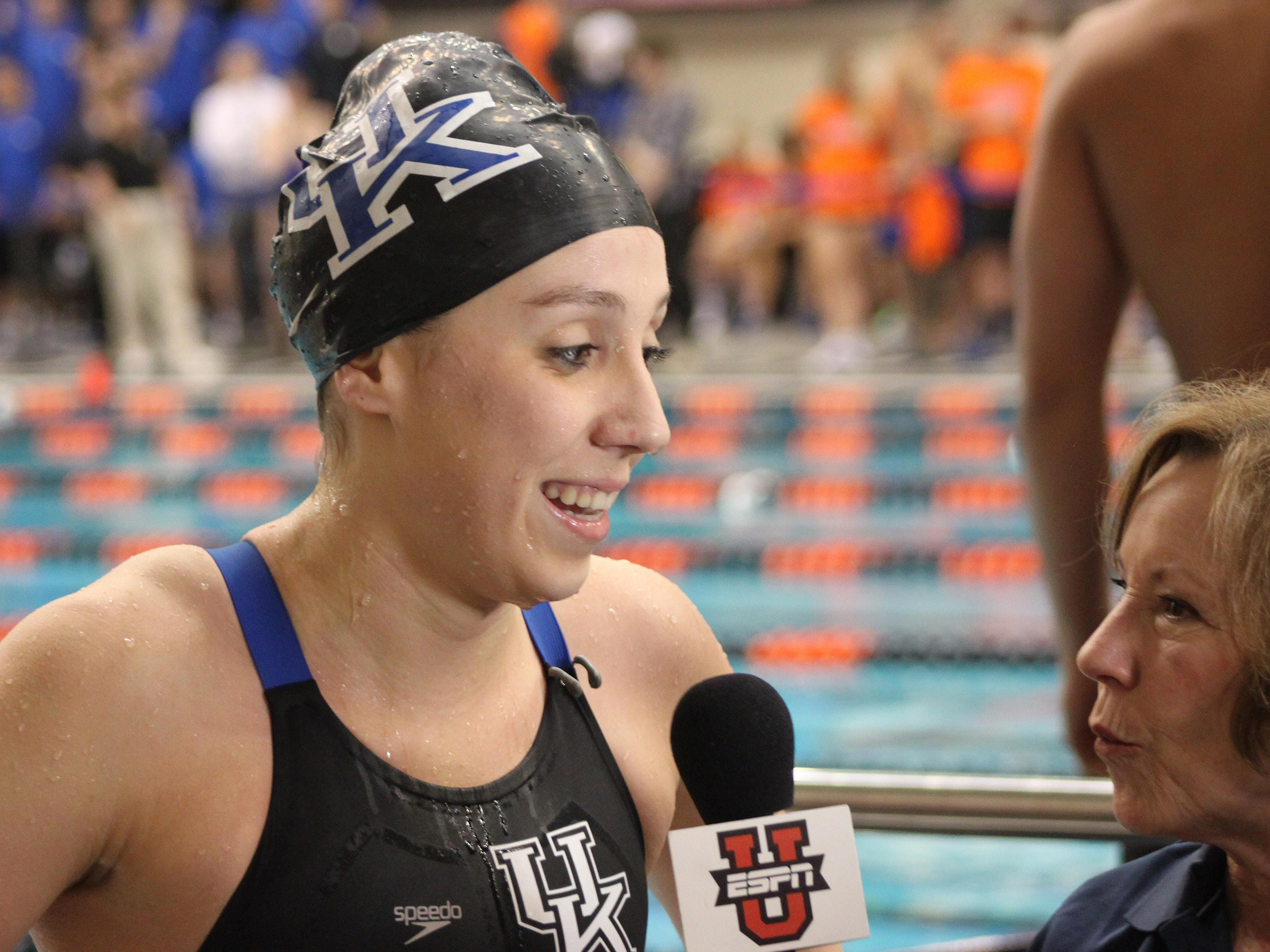 Former Mauldin and SAIL standout Danielle Galyer, who swims for the University of Kentucky, has been selected to the U.S. National Team and the Olympic Trials.