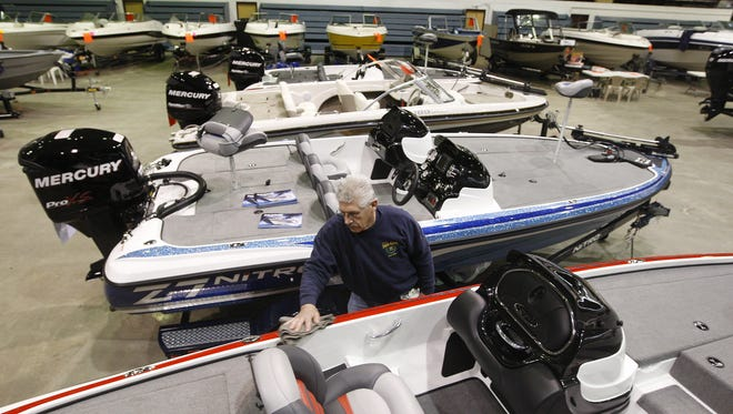 Check out water craft of all types including cruisers, fishing and pontoon boats, as well as kayaks, canoes and jet skis at the Greater Rochester Boat Show, Jan. 28 to 30.