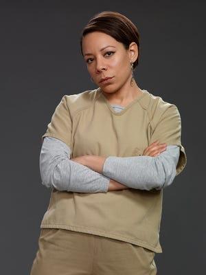 Selenis Leyva portrays Gloria Mendoza in Netflix series 'Orange Is the New Black.'