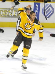 Peshtigo native Bobby Robins played 11 seasons for eight professional teams before making his NHL debut last year. Robins made the decision to retire after sustaining a concussion during his first game with the Boston Bruins.