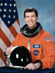 Evelyn Husband-Thomas will speak June 18 at First Baptist Church about Rick Husband, who perished in the Columbia disaster.