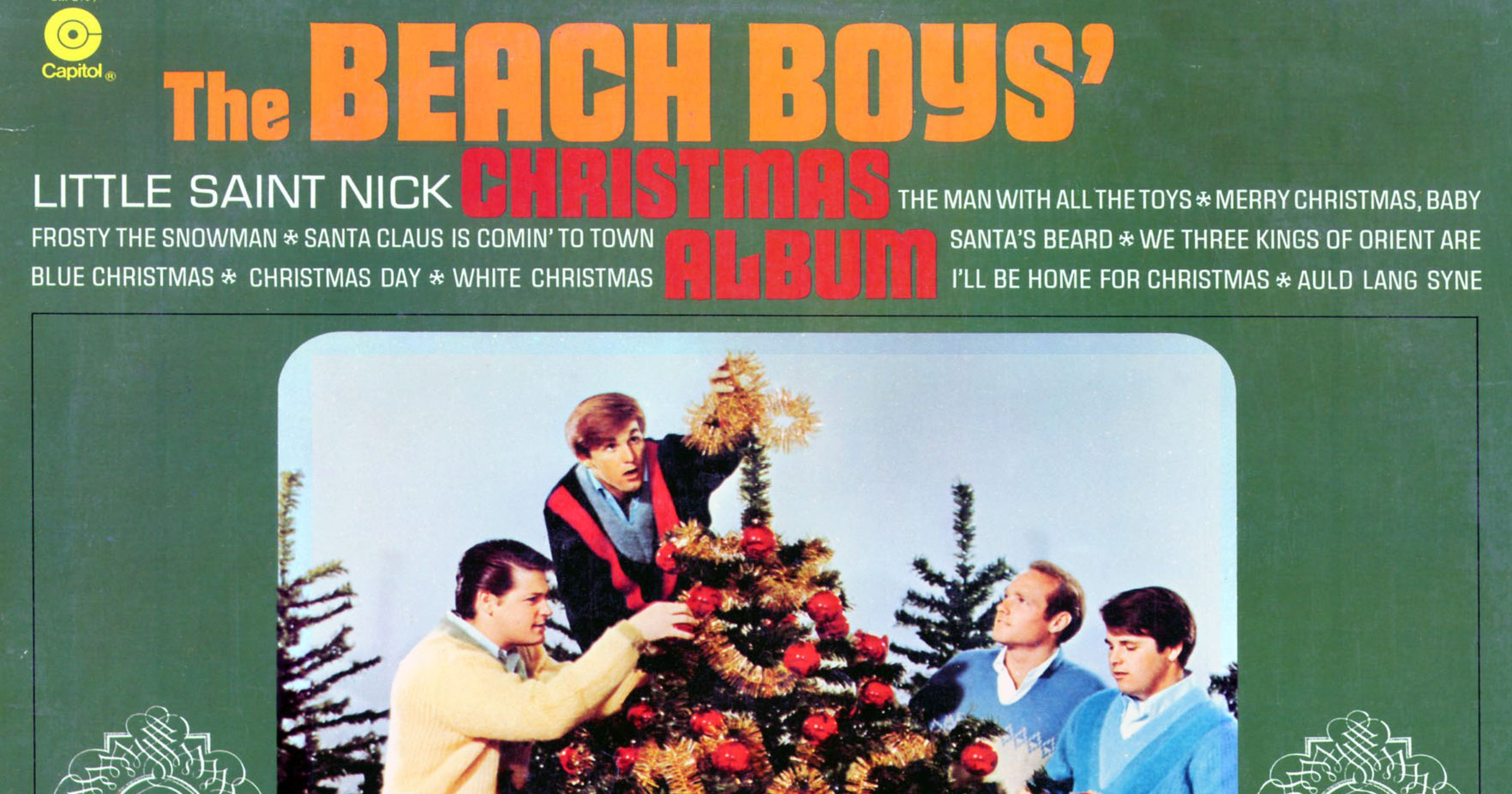30 great songs for a rock and roll christmas - Beach Boys Christmas