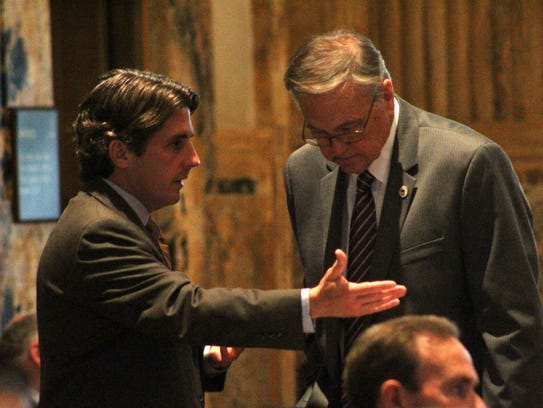 House Appropriations Chairman Cameron Henry, R-Metairie,