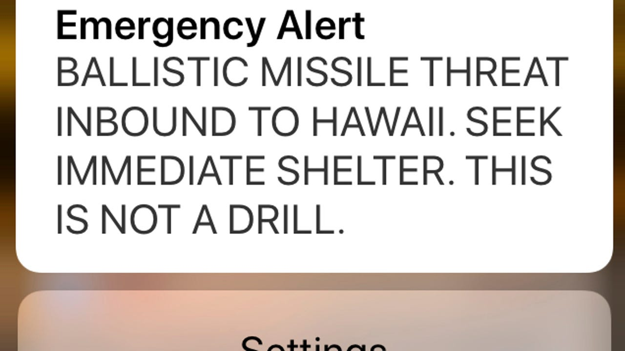 False alarm: Hawaiians prepare for missile attack