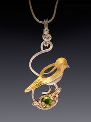 Jewelry by Laura Glenn Lawson will be among crafts