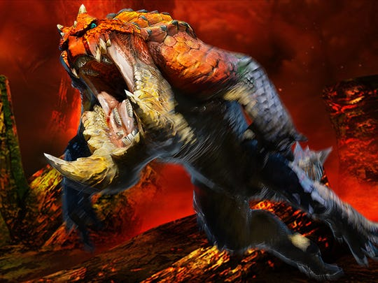 "Hunt giant monsters such as the Tetsucabra in ""Monster Hunter 4 Ultimate"" for the Nintendo 3DS."
