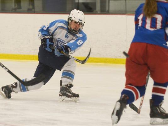 Hartford vs. South Burlington Girls Hockey 02/03/18