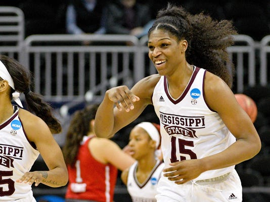 NCAA Womens Basketball: NCAA Tournament-Kansas City Regional-Mississippi State vs North Carolina State