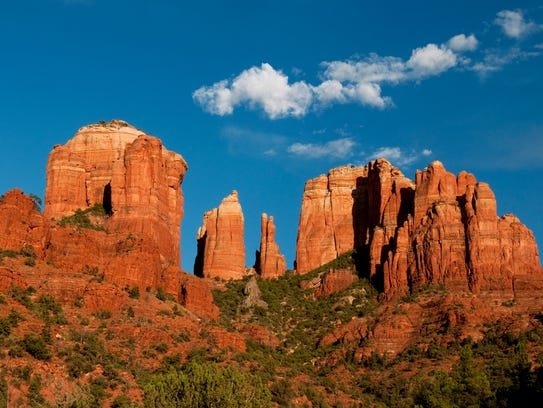 Cathedral Rock stands as a gateway to the backcountry.