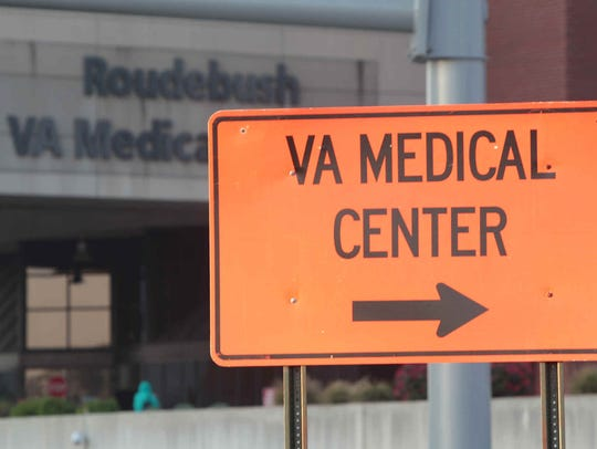 A veteran's gun discharged while he was in a procedure