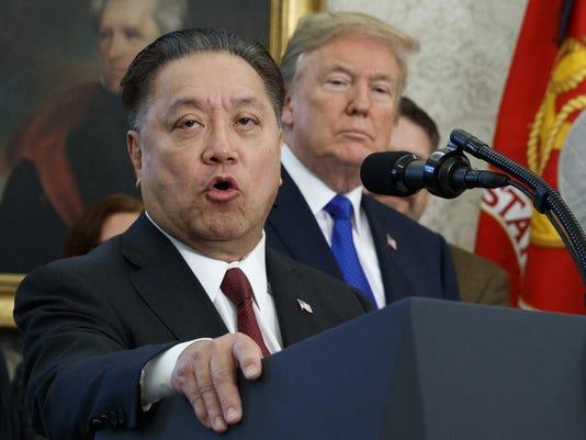 Hock Tan,Donald Trump
