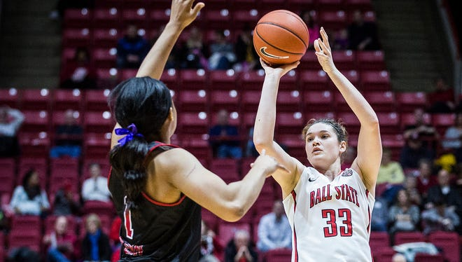 Ball State's Moriah Monaco is preseason All-MAC.