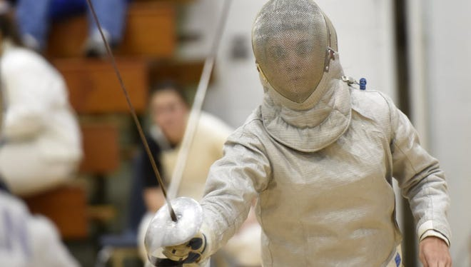 Senior Amanda Periu and the Lakeland girls' fencing team will compete in this weekend's District 4 Tournament in Fair Lawn and next week's Passaic County Tournament at Wayne Valley High School.