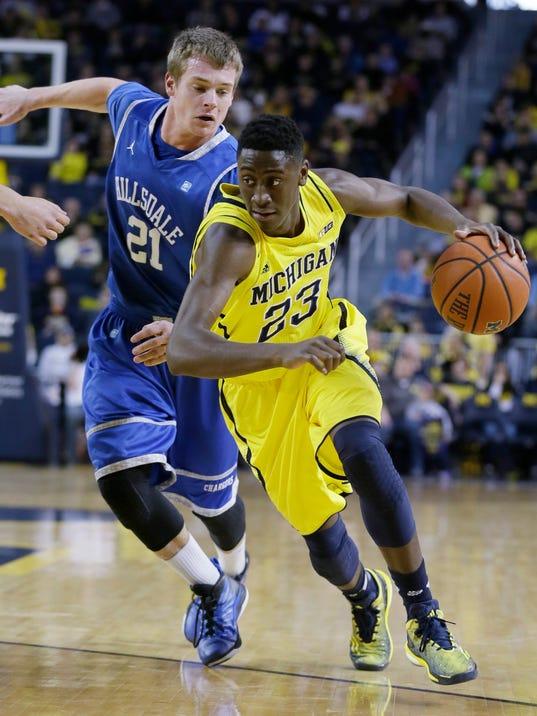 Hillsdale Michigan Basketball