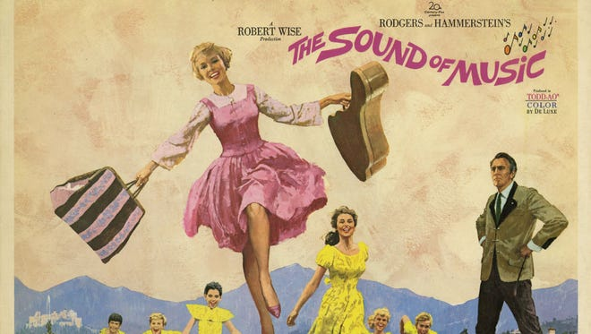 """An ad for """"The Sound of Music,"""" around 1965."""