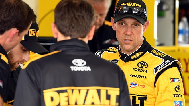 Matt Kenseth, the 2003 NASCAR champion from Cambridge, Wis., first drove a DeWalt sponsored car in 1999 and will again in what he expects to be his NASCAR finale, the 2017 Ford EcoBoost 400 at Homestead-Miami Speedway.