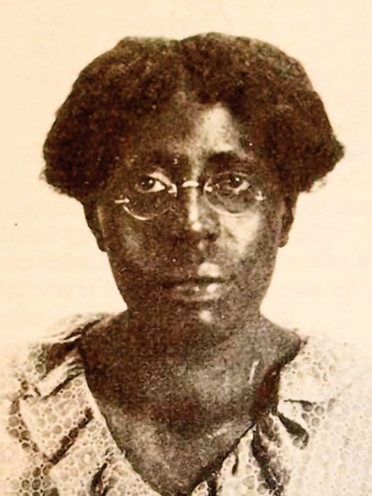 Anita Scott Coleman, one of the lesser known Harlem Renaissance writers, was raised and educated in Silver City. Her achievements are now honored with a historical marker in downtown Silver City. Courtesy Photo