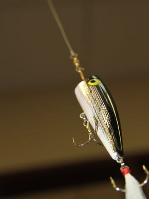 A fishing lure.