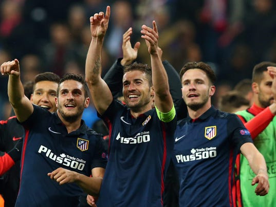 EPA GERMANY SOCCER UEFA CHAMPIONS LEAGUE SPO SOCCER DEU BA