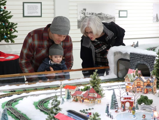 """The """"Hayes Train Special"""" is open through Jan. 7 at the Hayes Presidential Library & Museums."""