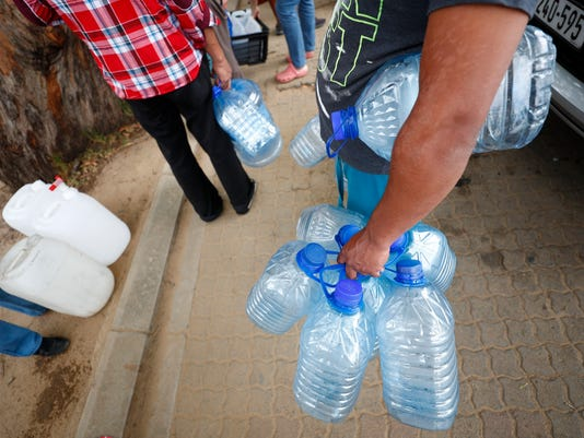 EPA SOUTH AFRICA WATER CRISIS ENV WATER SUPPLIES ZAF