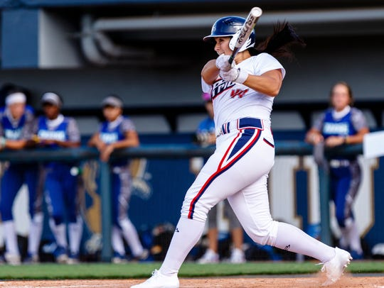 USSSA Pride's Lauren Chamberlain is the all-time NCAA
