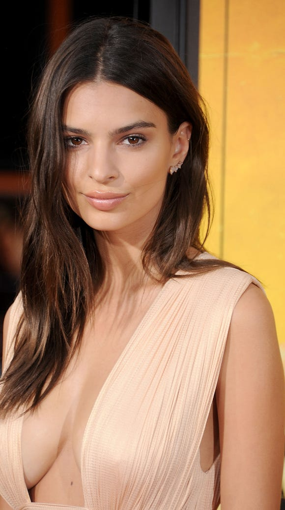 Model/actress Emily Ratajkowski has married actor Sebastian