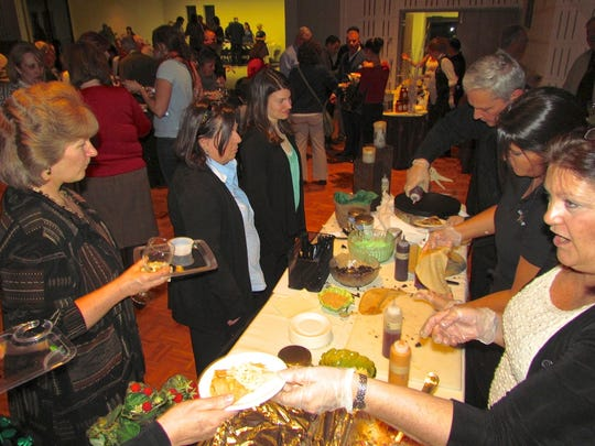 The Simply Crepes sampling table is always one of the most popular at the annual A Taste of Pittsford, scheduled this year for March 13 in the Otto Shults Center at Nazareth College.