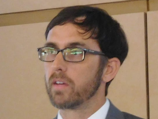 Ben Woody, head of of Asheville's Development Services