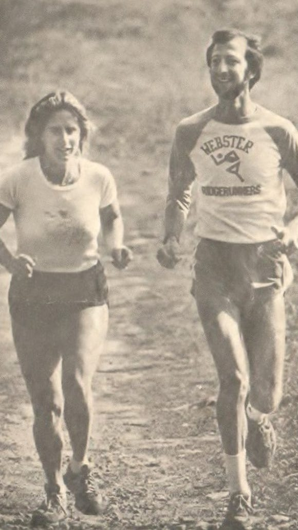 Jim May and his wife, Carol from yesteryear.