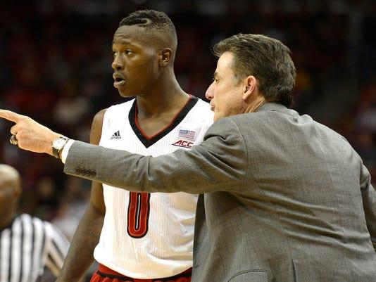 NCAA Basketball: Marshall at Louisville