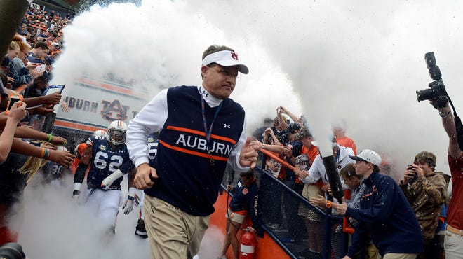 Auburn coach Gus Malzahn's squad opens fall camp Friday with the season just over four weeks away.