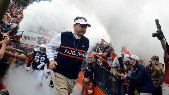 Two popular TV programs focused on Auburn football, including the review show featuring coach Gus Malzahn, will return this season.