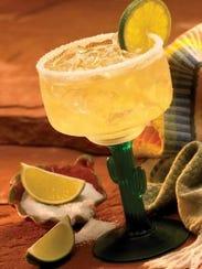 A margarita from El Chico.