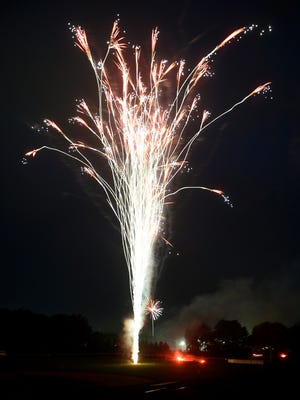 Fireworks that shoot up in the air or explode are illegal to buy in Pennsylvania without special permits. Out-of-state residents, however, can purchase Class C fireworks in Pa.