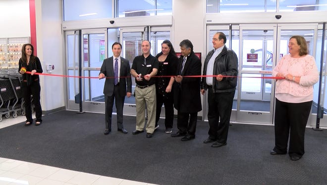 The ribbon-cutting for the new Burlington store that opened Friday on Route 18 in East Brunswick.